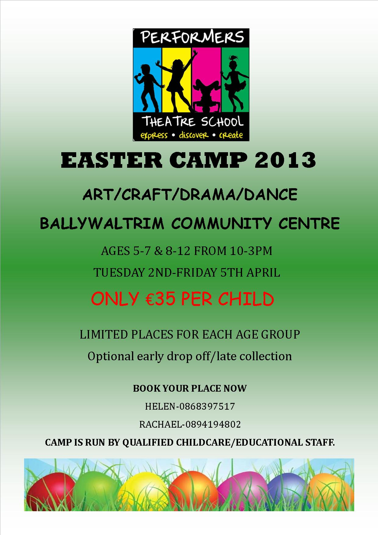 Dance/Drama/Art & Craft Easter